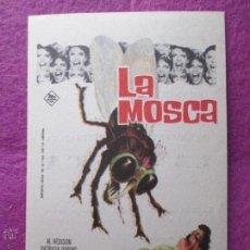 Cine: PROGRAMA CINE, FOLLETO DE MANO, LA MOSCA, SENCILLO, PM117. Lote 53664020