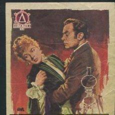 Folhetos de mão de filmes antigos de cinema: PROGRAMA LUZ QUE AGONIZA (CHARLES BOYER - INGRID BERGMAN - JOSEPH COTTEN ) CON PUBLICIDAD. Lote 53682995