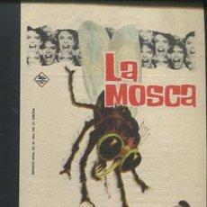 Cine: LA MOSCA PROGRAMA 20TH CENTURY FOX VINCENT PRICE HERBERT MARSHALL PATRICIA OWENS CON PUBLICIDAD. Lote 53687477