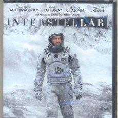 Folhetos de mão de filmes antigos de cinema: INTERSTELLAR DVD PROBABLEMENTE LA PELÍCULA MAS EMOCIONANTE SOBRE EL FUTURO DE LA HUMANIDAD.. Lote 53901966