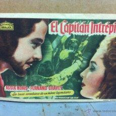 Cine: EL CAPITÁN INTRÉPIDO. SENCILLO DE ARAJOL.. Lote 53979211
