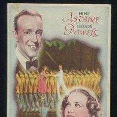 Cine: PROGRAMA LA NUEVA MELODÍA DE BROADWAY - FRED ASTAIRE, ELEANOR POWELL. Lote 53990013