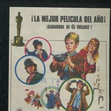 Cine: OLIVER PROGRAMA SENCILLO SUEVIA CAROL REED MARK LESTER. Lote 53999688