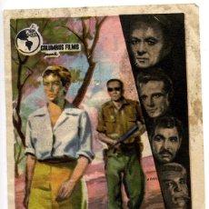 Cine: DESERCIÓN - CINE CARLOS III DE ALICANTE, 1961. Lote 54041666
