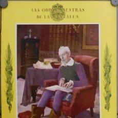 Cine: G4640 DON QUIJOTE DE LA MANCHA PROGRAMA LIBRITO GRANDE GAUMONT LAU LAUTIZEN 1926. Lote 54051841