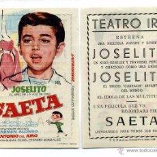 Cine: SAETA, CON JOSELITO.. Lote 178311051