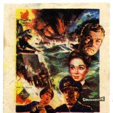 Cine: ¡HUNDID EL BISMARCK! CINE CARLOS III DE ALICANTE, 1961. Lote 54083866
