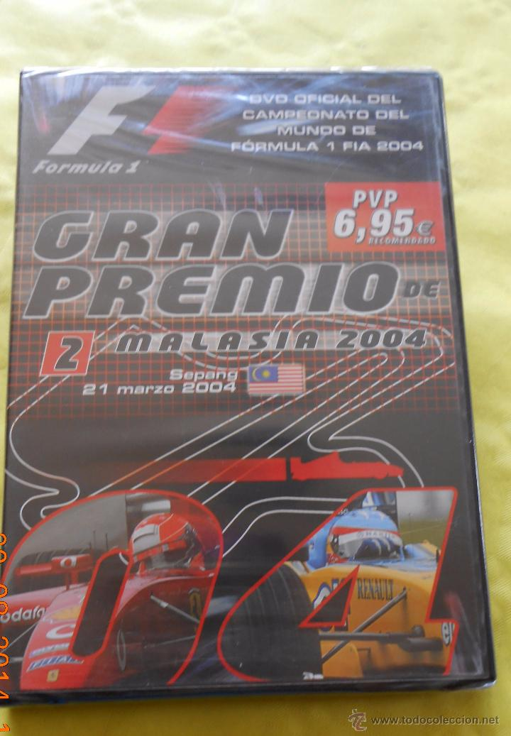 GRAN PREMIO MALASIA 2004 (Cine - Folletos de Mano - Deportes)
