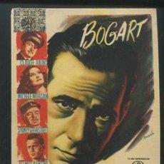 Cine: PROGRAMA PASAJE PARA MARSELLA - HUMPHREY BOGART, MICHELE MORGAN. Lote 54140813
