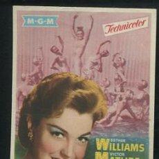 Cinema - PROGRAMA La Primera Sirena - Esther Williams, Victor Mature - 54140856