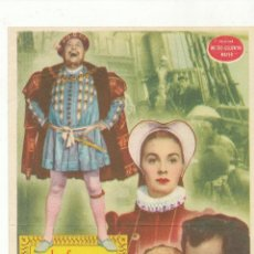 Cine: LA REINA VIRGEN. SENCILLO DE MGM. . Lote 54142295