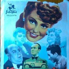 Cine: QUE FAMILIA ! TEATRO APOLO DE EL ALGAR 1944 CARTAGENA MURCIA. Lote 54148408