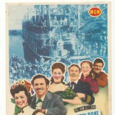 Cine: MAGNOLIA. SENCILLO DE MGM. CINE AVENIDA DE VERANO - SEVILLA 1953.. Lote 54155430