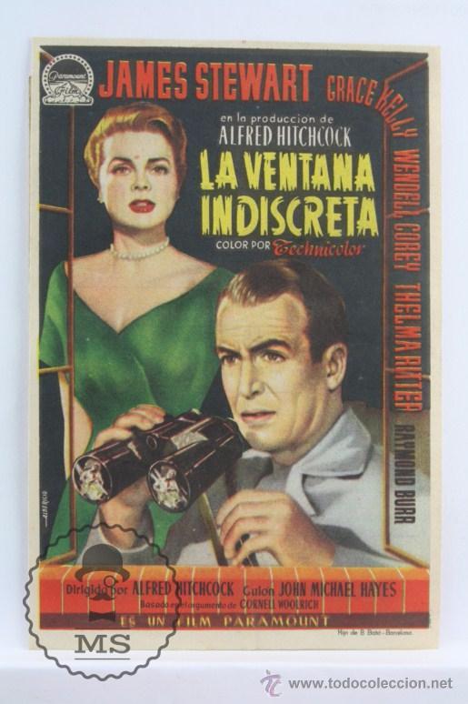Programa De Cine La Ventana Indiscreta Alfr Comprar Suspense