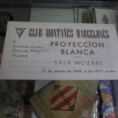 Cine: 1268.- CINE-PROYECCION BLANCA-PROYECCION DEL FILM AL RALENTI EL ESQUI EN SUIZA. Lote 54202765