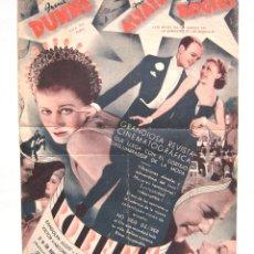 Cine: PROGRAMA DOBLE RKO *ROBERTA* 1936 FRED ASTAIRE GINGER ROGERS IRENE DUNNE CINE STA CRUZ OVIEDO. Lote 54242852