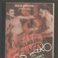Cine: BRAZOS DE ACERO - DOBLE - CINE DELICIAS -(C-2398). Lote 54322985