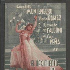 Cine: EL NACIMIENTO DE SALOME - DOBLE - CINE FOMENTO -(C-2402). Lote 54323600