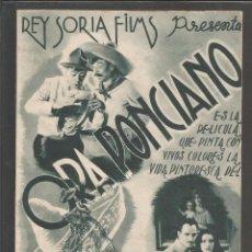 Cine: ORA PONCIANO - DOBLE - CINE VICTORIA -(C-2408). Lote 54323942