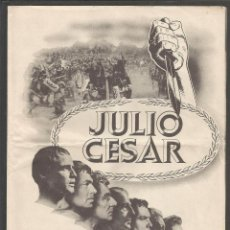 Cine: JULIO CESAR - DOBLE -(C-2409). Lote 54323988