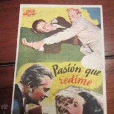 Cine: PASIÓN QUE REDIME - HEDY LAMARR, DENNIS O´KEEFE . Lote 54387791
