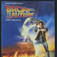 Cine: PROGRAMA REGRESO AL FUTURO MICHAEL J. FOX, CHRISTOPHER LLOYD, MARY STEENBURGEN.. Lote 54700385