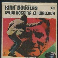 Cine: PROGRAMA SINDICATO DE ASESINOS - KIRK DOUGLAS, SYLVA KOSCINA . Lote 54424817