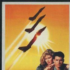 Folhetos de mão de filmes antigos de cinema: PROGRAMA TOP GUN - TOM CRUISE, TIM ROBBINS, KELLY MCGILLIS - TONY SCOTT. Lote 54437649
