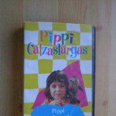 Cine: PIPI CALZASLARGAS Nº 3 -PIPI Y EL SPUNK - PELÍCULA VHS AÑO 1998. Lote 59697315