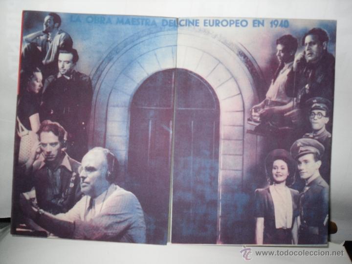 OBRA DE CINE 1940 (Cine - Folletos de Mano - Documentales)