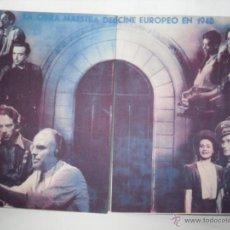 Cine: OBRA DE CINE 1940. Lote 54569458