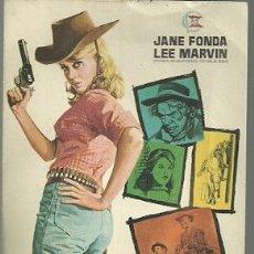 Foglietti di film di film antichi di cinema: PROGRAMA DE MANO DE LA PELICULA LA INGENUA EXPLOSIVA CON JANE FONDA. Lote 54699196