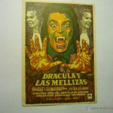 Cine: PROGRAMA DRACULA Y LAS MELLIZAS - PETER CUSHING. Lote 54740465