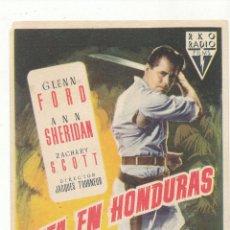Cine: CITA EN HONDURAS. SENCILLO DE RKO RADIO. . Lote 54783514