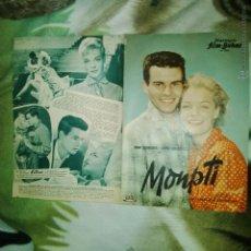 Cine: MONPTI ROMY SCHNEIDER PROGRAMA ANTIGUO ALEMAN 36 X 26. Lote 54865492