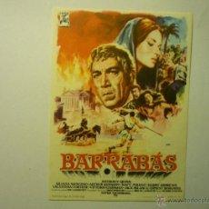 Cine: PROGRAMA BARRABAS-A.QUINN PUBLICIDAD. Lote 54874213