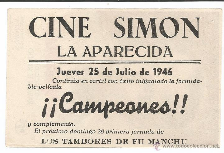 Cine: CAMPEONES - SENCILLO - CON PUBLICIDAD - Foto 2 - 54979780