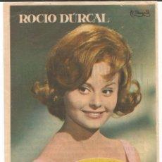 Cine: LA CHICA DEL TRÉBOL - ROCÍO DÚRCAL - SENCILLO - CON PUBLICIDAD. Lote 54979947