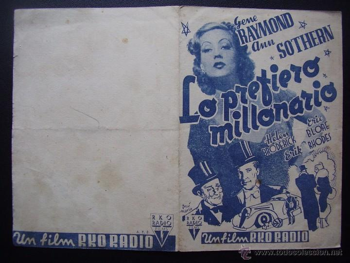 Cine: LO PREFIERO MILLONARIO, GENE RAYMOND, ANN SOTHERN - Foto 3 - 55036944