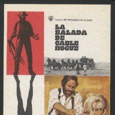 Cine: P-5825- LA BALADA DE CABLE HOGUE (THE BALLAD OF CABLE HOGUE) JASON ROBARDS - STELLA STEVENS. Lote 263137725