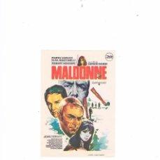 Cine: FOLLETO CINE PROGRAMA DE MANO ANTIGUO PELÍCULA MALDONNE. Lote 55399844