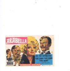 Cine: FOLLETO CINE PROGRAMA DE MANO ANTIGUO PELÍCULA ARABELLA. Lote 55400615