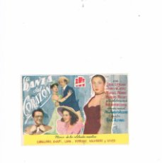 Cine: FOLLETO CINE PROGRAMA DE MANO ANTIGUO LA DANZA DEL CORAZÓN TONY LEBLANC PACO MARTÍNEZ SORIA. Lote 55401625
