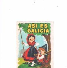Cine: FOLLETO CINE PROGRAMA DE MANO ANTIGUO PELÍCULA ASÍ ES GALICIA. Lote 55402566
