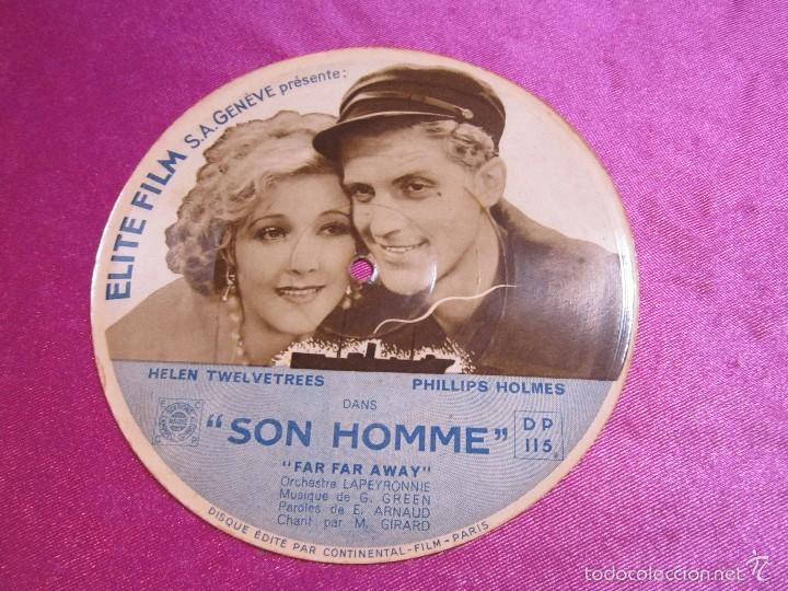 SON HOMME PHILLIPS HOLMES HELEN PROGRAMA CINE DISCO VINILO AÑOS 40 - 5 C2 (Cine - Folletos de Mano - Musicales)