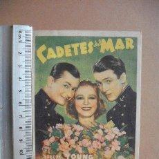 Cine: CADETES DEL MAR - 1943 ,. Lote 55713160