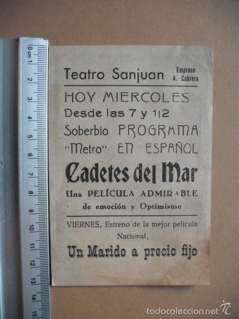 Cine: CADETES DEL MAR - 1943 , - Foto 2 - 55713160