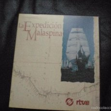 Flyers Publicitaires de films Anciens: LA EXPEDICIÓN MALASPINA.. DOS VIDEOS CON LA SERIE DE RTVE. Lote 55809025