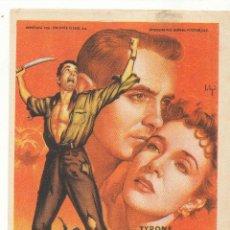 Cine: GUERRILLEROS EN FILIPINAS. SOLIGÓ. SENCILLO DE 20TH CENTURY. CINE CAPITOL - SANTIAGO.. Lote 55811289