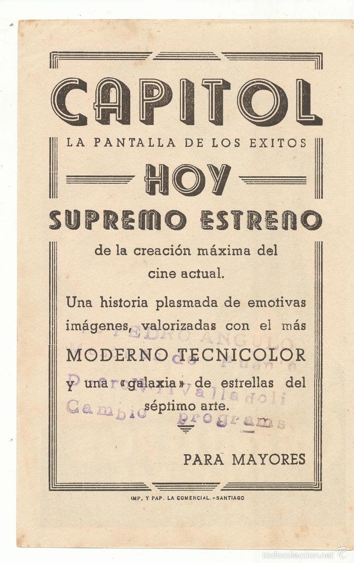 Cine: Guerrilleros en Filipinas. soligó. Sencillo de 20Th Century. Cine Capitol - Santiago. - Foto 2 - 55811289